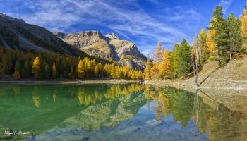 Lac de l'orceyrette briancon