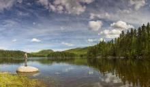 Lac des îles région St Donat