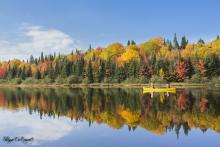 canoë d'automne