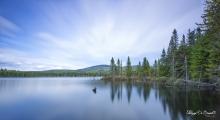 Pause sur le lac